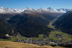davos, switzerland, landscape